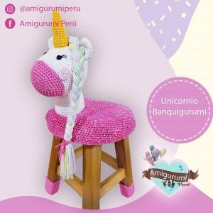 Unicornio Amigurumi no Elo7 | Keyly Nogueira (102EDBF) | 300x300